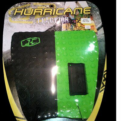 Pad Hurricane Surf Beyrick Traction 2 Pieces Grip Green Black