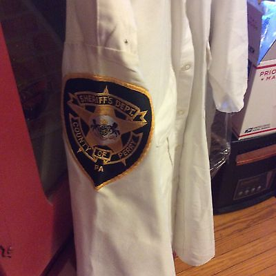 nice Sheriff Dept of Perry County Shirt size 181/2