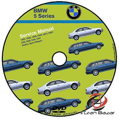 Manuale Officina Bmw Serie 5 E39 Bentley Publisher My 1997 -2002 Workshop Manual