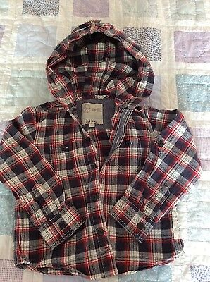 boys fat face hoodie shirt age 4