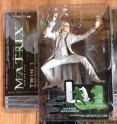 Mcfarlane The Matrix Reloaded Twin 1 (Series One Action Figure) NEW