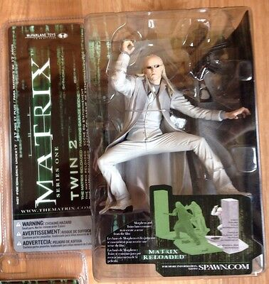 Mcfarlane The Matrix Reloaded Twin 2 (Series One Action Figure) NEW