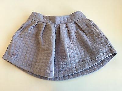 No Added Sugar Girls Purple Quilted Skirt 4yrs
