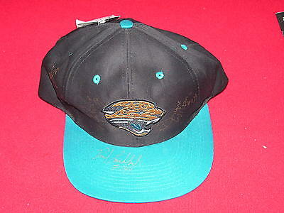 Jacksonville Jaguars Signed Cap 3 Players Nwt Coa From Mma