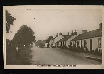 Clarencefield Village Dumfriesshire Dumfries & Galloway Real Photo Postcard 18