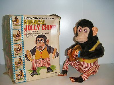 Jolly Chimp Monkey W/ Cymbals As seen in Toy Story 3 And Call Of Duty!! Works!!