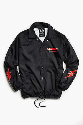The Weeknd Rare Starboy Graphic Coach Jacket Large