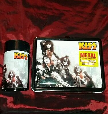 Kiss 3D Lunchbox With Flask 2000 Catalog