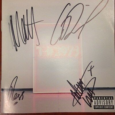 Autographed THE 1975 I Like It When You Sleep Beautiful CD Signed Pre-Sale!!