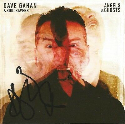 DAVE GAHAN & SOULSAVERS Angels & Ghosts CD Depeche Mode SIGNED