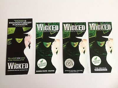 Wicked The Musical  Leaflet / Flyer / Pamphlet