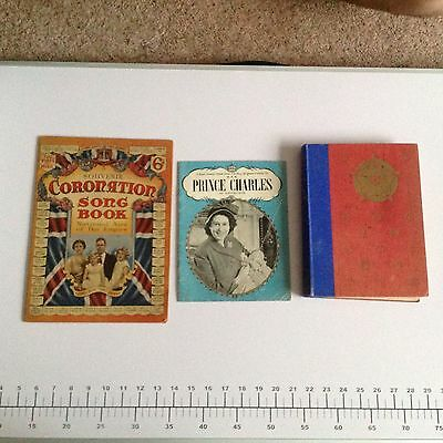Coronation Song Book, King George & Queen Elizabeth, Birth Of Prince Charles