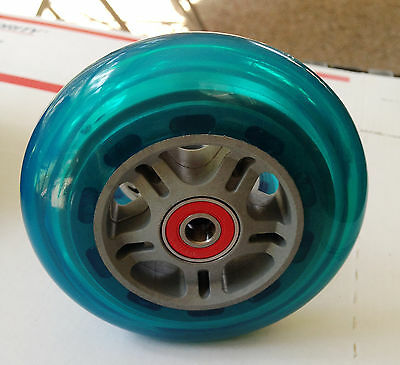 """4"""" Quickie Wheelchair Casters-Tilite-Invacare  ( 2 Wheels / W Spacers)"""