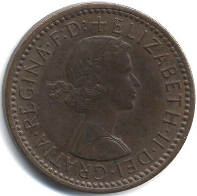 1956 Elizabeth II Farthing***Collectors***High Grade***