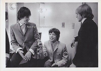 Rare Rolling Stones 1975 Printing by Jim Marshall at Ed Sullivan Backstage