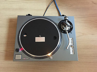 Technics 1200 MK2 Turntable/Deck with Upgraded Phonos/Pitch & New Cover!