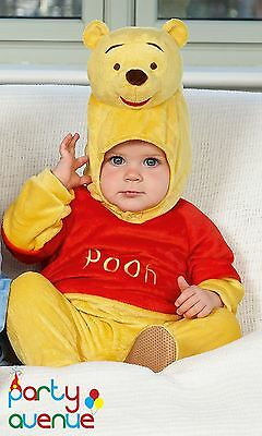 Disney Baby Winnie the Pooh Romper with Hood Toddler Babies Costume