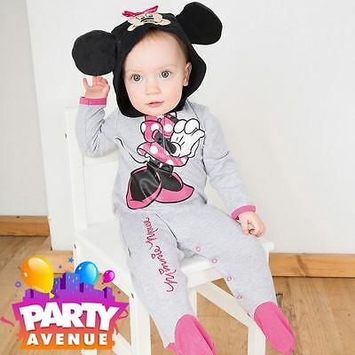 Disney Baby Minnie Mouse Romper Jersey Toddler Babies Costume Outfit