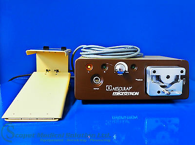Aesculap microtron Type GD 412 with foot switch