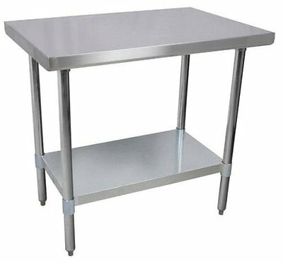 Commercial Stainless Steel Work Prep Table 24 x 48 NSF Certified