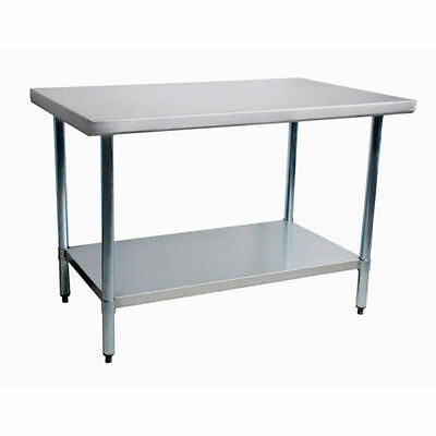Commercial Stainless Steel Work Prep Table 30 x 48 NSF Certified