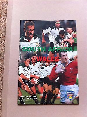 South Africa v Wales 1998