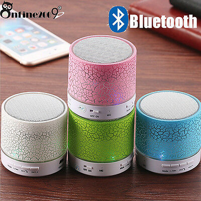 Bluetooth Wireless Super Bass Stereo Speaker Portable For SmartPhone Tablet LOT