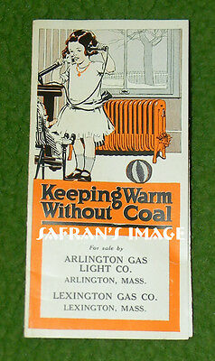 Vintage CLOW RADIATOR BROCHURE Keeping Warm Without Coal Collectors MUST L@@K