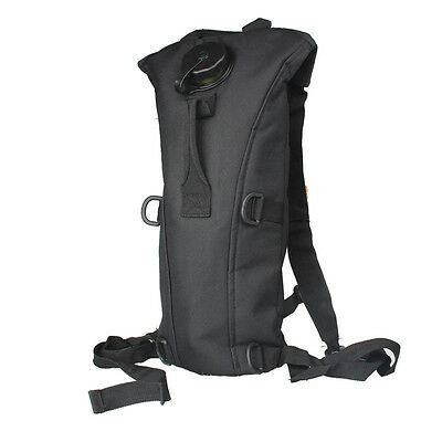 Hydration Water Bag Pouch Backpack Bladder Hiking Climbing Survival Black 3L