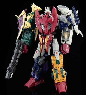 Unique Toys Mighty Ordin Full Set Of 5 Figure Transformers Abominus Masterpiece