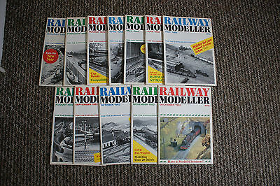 Railway  modeller magazine choice of 12 pick the year you want