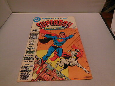 Dc Comics Fabulous First Issue! #1 Superboy Spectacular Comic Book