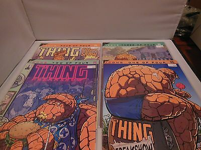 THING FREAKSHOW #1-4 Complete Set Marvel Fantastic Four Icons series