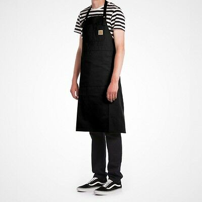 Carhartt Canvas Apron Black Black Rigid I021119-8901