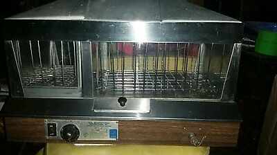 STAR COMMERCIAL Model 36 CONCESSION COUNTER TOP HOT DOG BUN COOK STEAMER WARMER