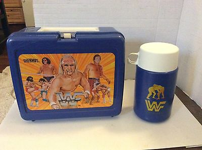Wwf Hulk Hogan Rowdy Roddy Piper Andre The Giant Lunchbox And Thermos