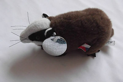 Badgey the Badger  Soft Toy Coca - Cola 2000 edition