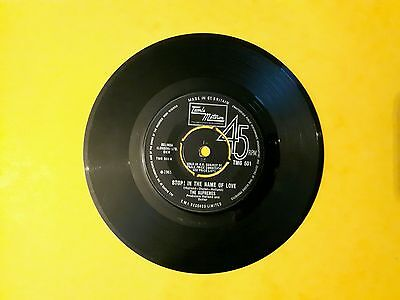 Supremes   Stop In The Name Of Love   UK Motown