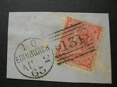 GB 1862-64 4d Red SG80 x 3 Used