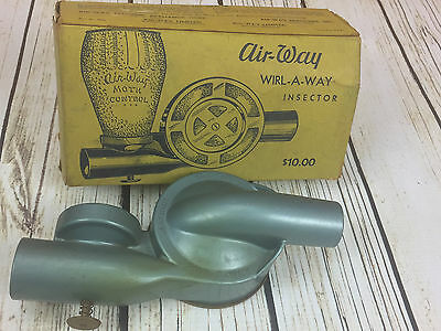 Vintage 1950's Air-Way Wirl-A-Way Insector In Orgional Box.