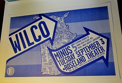 Wilco with Minus 5 Young Fresh Fellows REM Posies Superchunk Org Show Poster