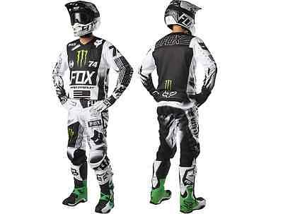 Motocross,enduro,completo Fox 180 Monster/pro Circuit Special Edition Tg. 34/xl