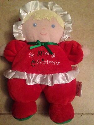 Merry Christmas Soft Doll 1st Baby Infant