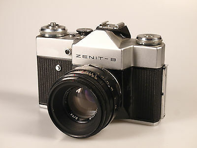 Zenit B 35mm Film Camera with Helios 58mm f2 lens