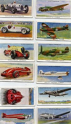 SPEED - Wills cigarette cards 1938