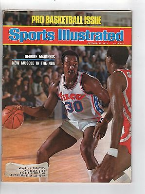 Sports Illustrated index scan Basketball George McGinnis New Muscle in NBA