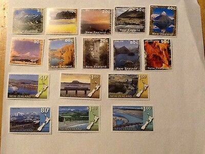 New Zealand Stamps Unused Total Value $11.25NZ