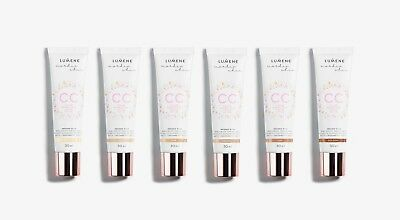 LUMENE CC Cream 6-in-1 - Semi-Matte - All Skin Types - 6 Shades - New