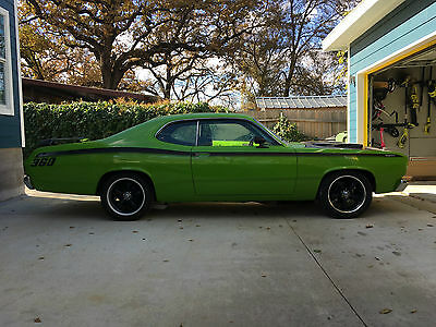 1972 Plymouth Duster  1972 DUSTER!!! 408 Stroker Auto with Overdrive RESTOMOD