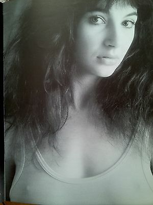 Kate Bush Early Promo Shot 1978 Single Page Poster from Music Magazine 31x25cm
